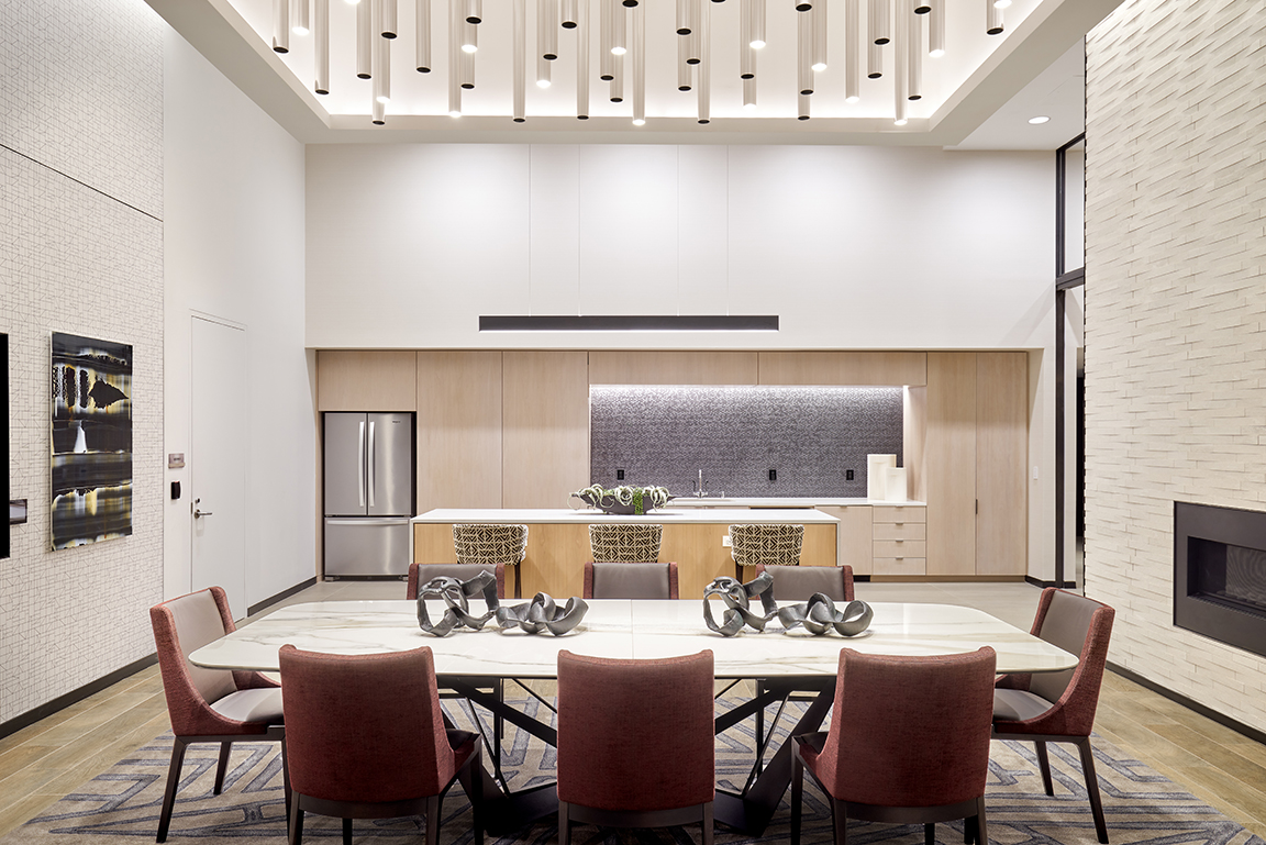 private dining space for residents in vyv south