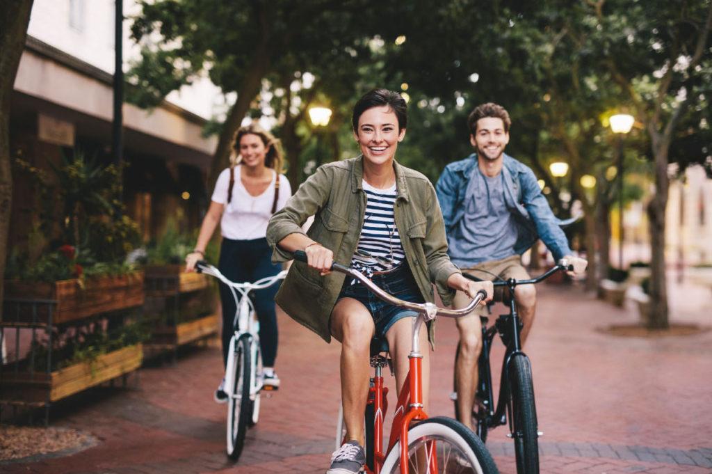 group-bicycle-sidewalk-resized